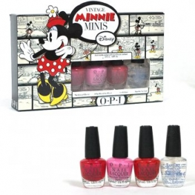 OPI Nail Polish Lacquer Vintage Minnie Mini Set
