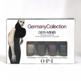 OPI Nail Polish Lacquer Ger-Minis Germany Collections Mini Set