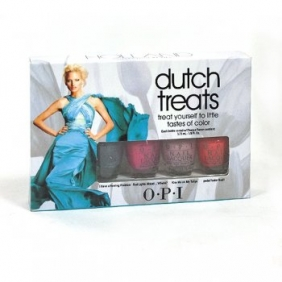 OPI Nail Polish Lacquer Dutch Treats Mini Set