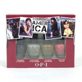 OPI Nail Polish Lacquer Touring Amer Ica Mini Set