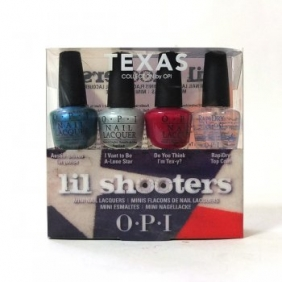 OPI Nail Polish Lacquer Lil Shooters Texas Collection Mini Set