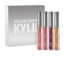 KYLIE Full-Size 4pc Holiday Kit | Matte Liquid Lipsticks & Gloss