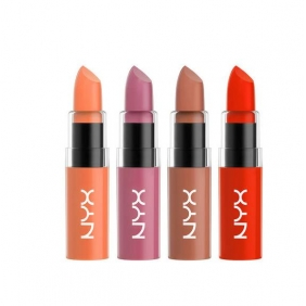 wholesale 12 pcs NYX Butter Lipstick 12 color mix in one box