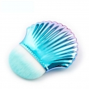 Mermaid shell foundation & powder Brush