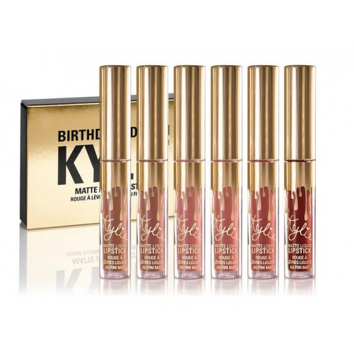 Kylie Jenner Mini Mattes Lipsticks Birthday Edition