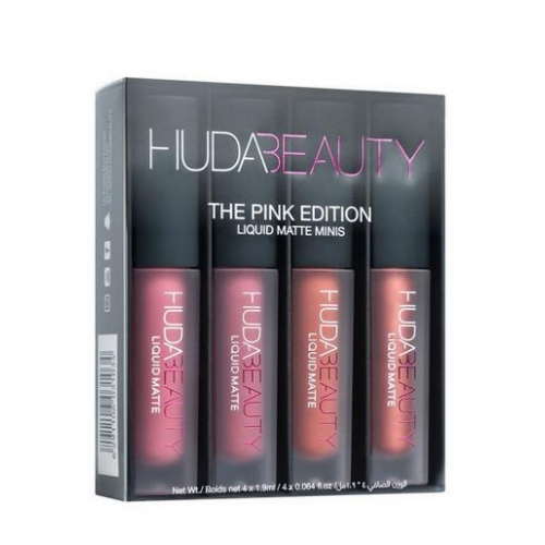 Huda Beauty Liquid Matte Minis – Pink Edition